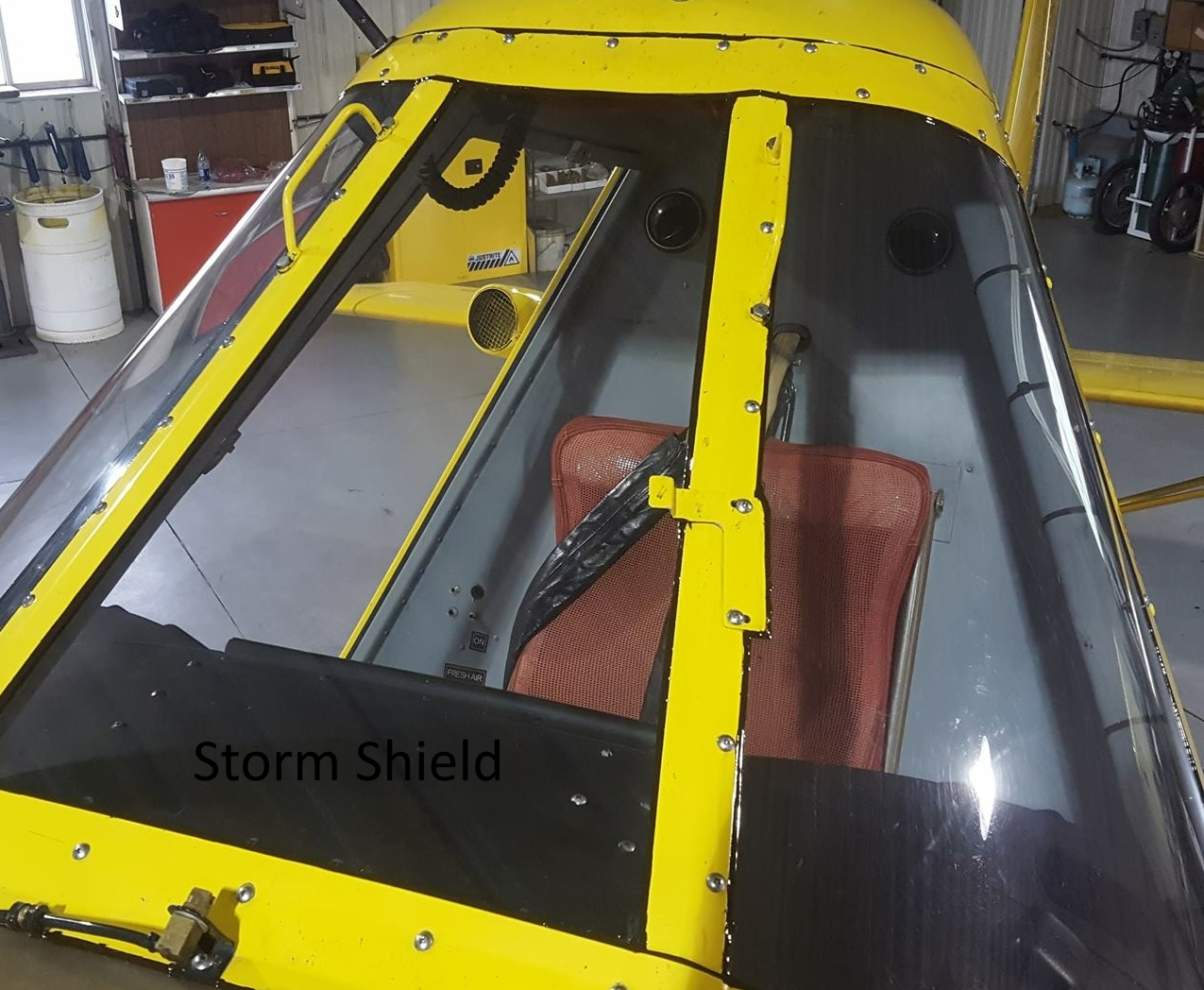 Other Important Parts Yorkton Aircraft Service Wiring Harness Clamps August 2017 Hershey Flying Storm Aeronautics Has Received Faa Approval On Their New Shield